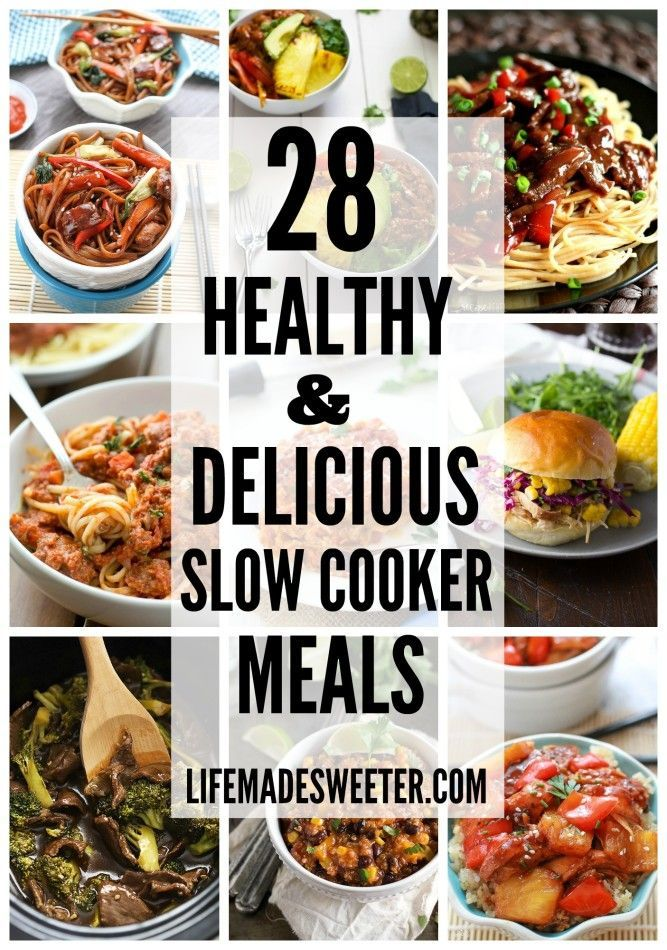 28 healthy delicious slow cooker meals meals soups for Delicious slow cooker soup recipes