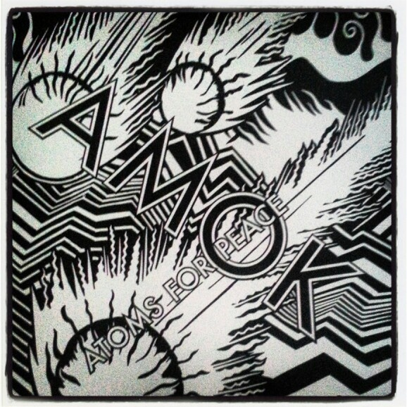 VinylCollectionUpdate: Atoms For Peace - AMOK
