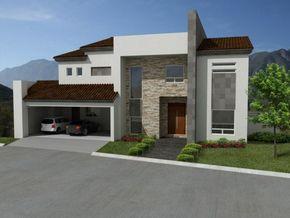 22 Fachadas de casas con teja y piedra