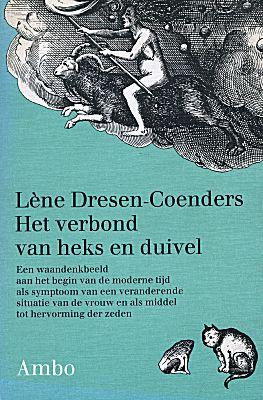 """In haar boek """"het verbond van heks en duivel"""" behandelt Lène Dresen-Coenders de waandenkbeelden van de heksenleer. Om haar betoog te staven verwijst zij naar diverse schilderijen van Jeroen Bosch."""