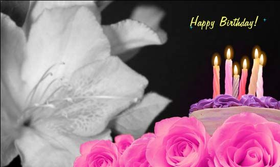 Wonderful birthday wishes, postable to FB!!!