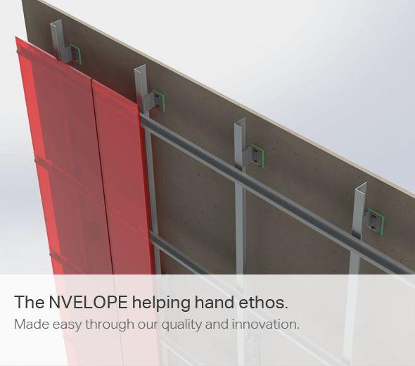 Rainscreen Cladding   Exterior External Cladding Systems   NVELOPE