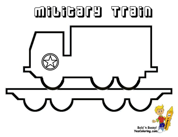 11 Best Ironhorse Train Coloring Pages Images On Pinterest Train Army Tank Happy Birthday Coloring Page