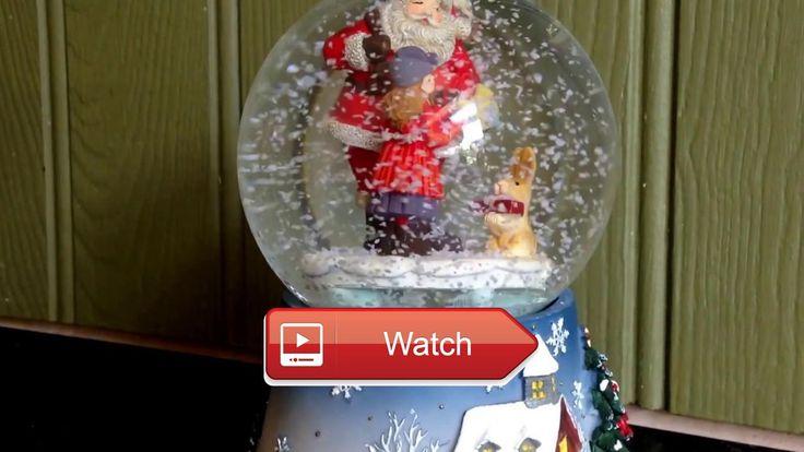 Winter Wonderland Santa With Presents Musical Snow Globe Christmas Music Video Winter Wonderland Santa With Presents Musical Snow Globe Christmas Music Video Memory Lane Toys Games