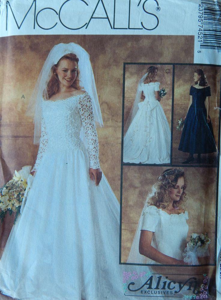 Amazing Vogue Wedding Dress Patterns Festooning - Wedding Dresses ...