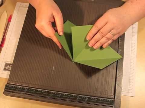 Classe Créative: Carte triangle 3D... le retour !