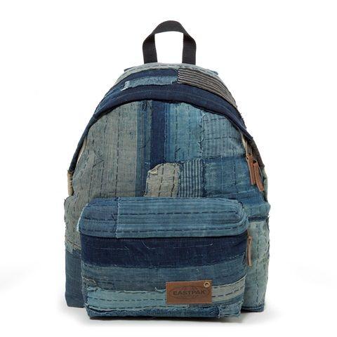 eastpak long john kuroki boro vintage special limited edition 2016 bag rugzak blue indigo patched patches east pak selvedge selvage  (13)