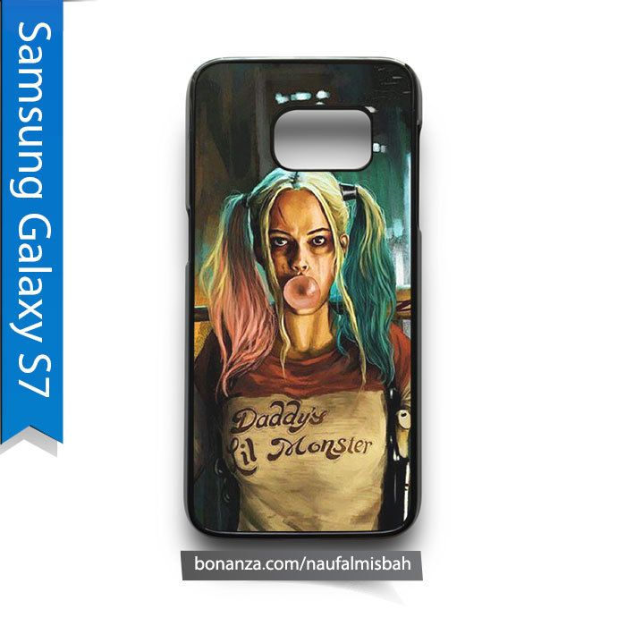 Harley Quinn Daddy s Lil Moster Samsung Galaxy S7 Case Cover