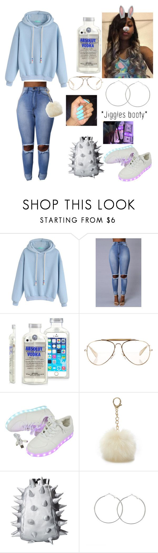 """""""Slow Jamz"""" by jadynbell ❤ liked on Polyvore featuring CÉLINE, Nine West, MadPax and AG Adriano Goldschmied"""