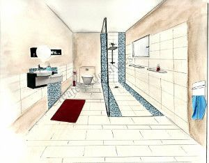 Salle de bains Epurée - Créateur de styles
