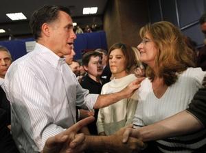 PHOTO #16  #prezpix #prezpixmr   election 2012  candidate: Mitt Romney  publication: National Public Radio NPR  photographer: Gerald Herbert/AP  publication date: 3/7/12