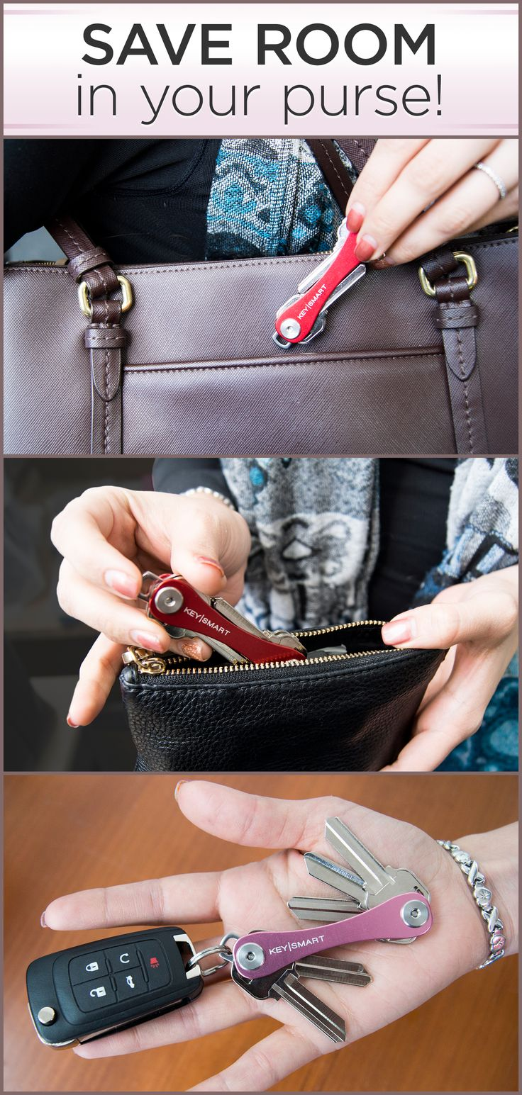 Looking to save some space in that little handbag or purse? Your keys tend to take up a large part of that space, so organize them with this convenient key holder! It folds your keys like a pocket knife and keeps them from jingling in your bag. Its super stylish and comes in a variety of colors. Use code ORGANIZE15 in the next 30 days for 15% off!