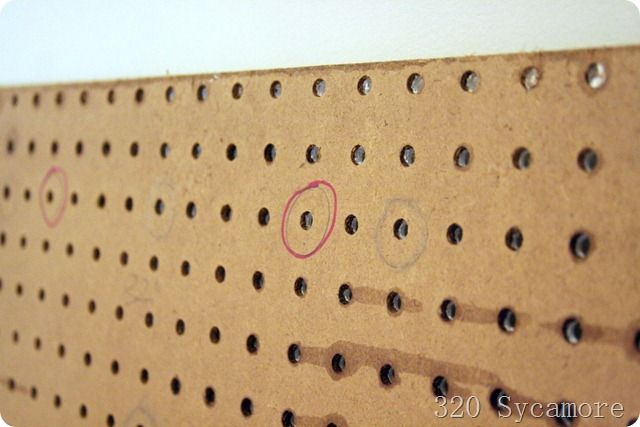diy tufted headboard. Never thought to use peg board!