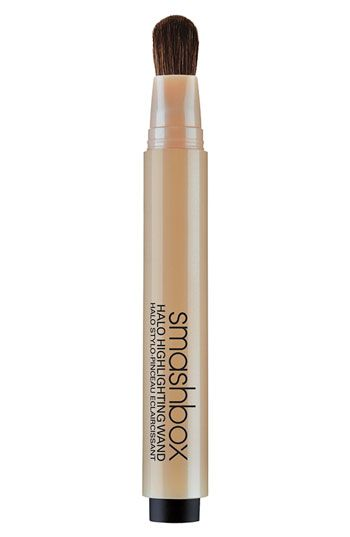 Smashbox 'Halo' Highlighting Wand available at Nordstrom. I use this to highlight my cheek bones goes on light!