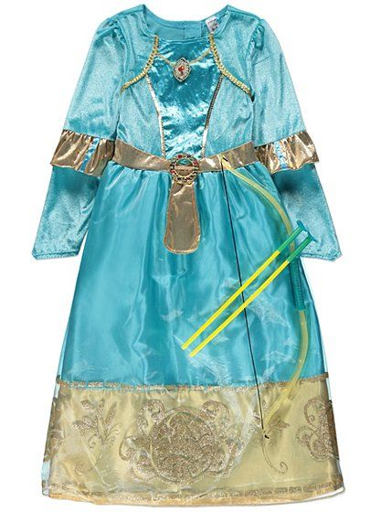 Disney Merida Fancy Dress Costume, read reviews and buy online at George. Shop from our latest range in Kids. Not all princesses need to wear a tiara, they c...