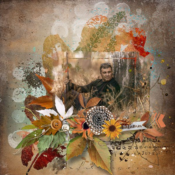 RAK for a friend Alexandr   used kits Golden Autumn & September Garden by et designs   http://www.thedigichick.com/shop/et-designs/