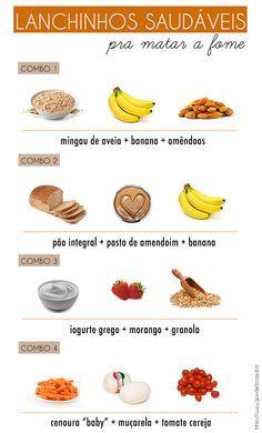 Combinações saudáveis para matar a fome! Produtos naturais e saudáveis você encontra no Empório Ecco: www.emporioecco.com.br
