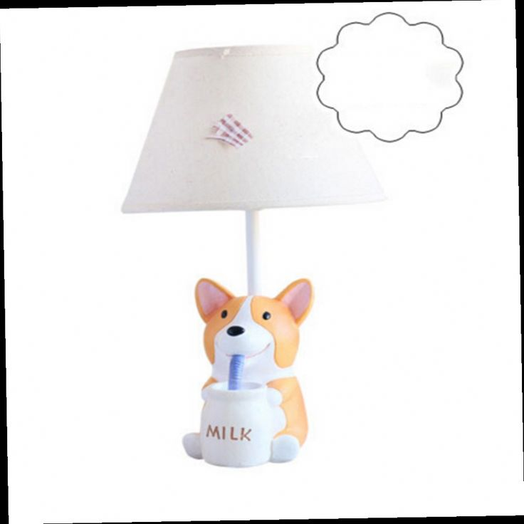 49.30$  Buy now - http://alieae.worldwells.pw/go.php?t=32777819641 - Children Room Lovely Puppy Table Lamp E14 110V-220V Switch Button Table Led Lamp Fashion Birthday Gifts Kids Desk Lamps 49.30$