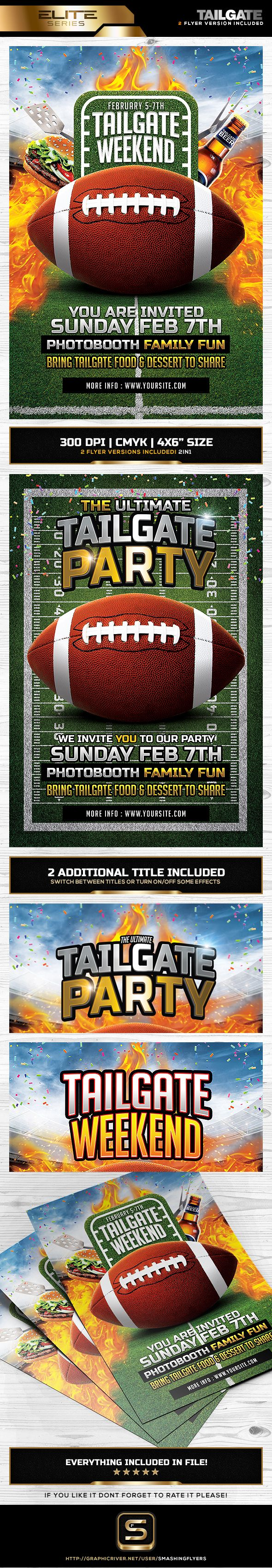 Best Flyer Templates Images On   American Football