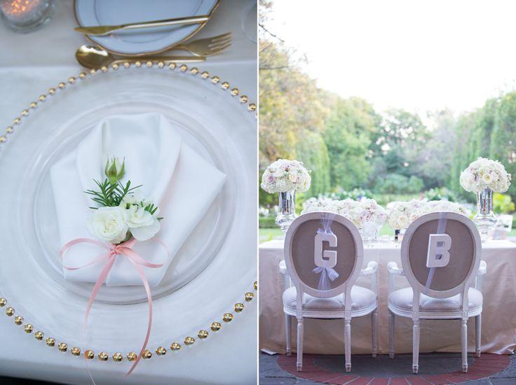 Graydon Hall Manor bride and groom head table decor