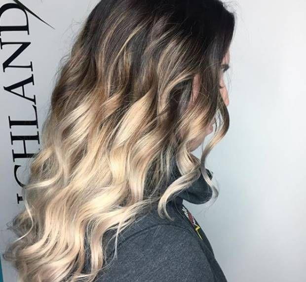 درجات لون صبغة اومبري بلاتيني اشقر الطريقة و الاسعار و الالوان Ombrehair Hairstyles Haircolor Haircoloring Long Hair Styles Ombre Hair Color Hair Styles