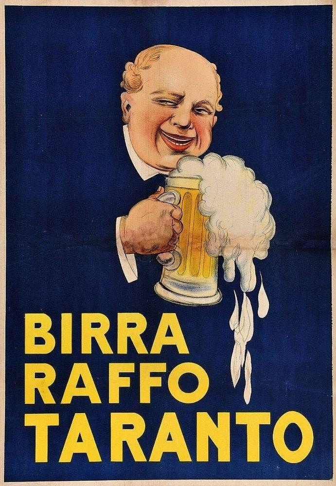 Birra Raffo Taranto - 1930's -