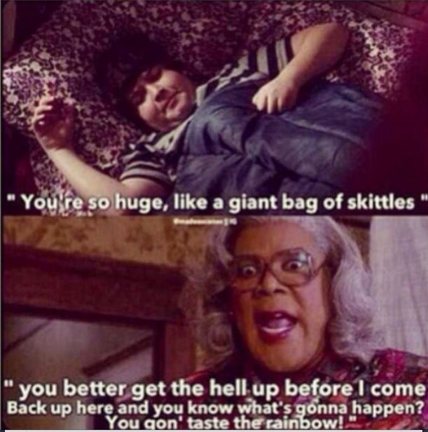Madeas witness protection priceless movie quotes moments for Funny movie pictures with captions