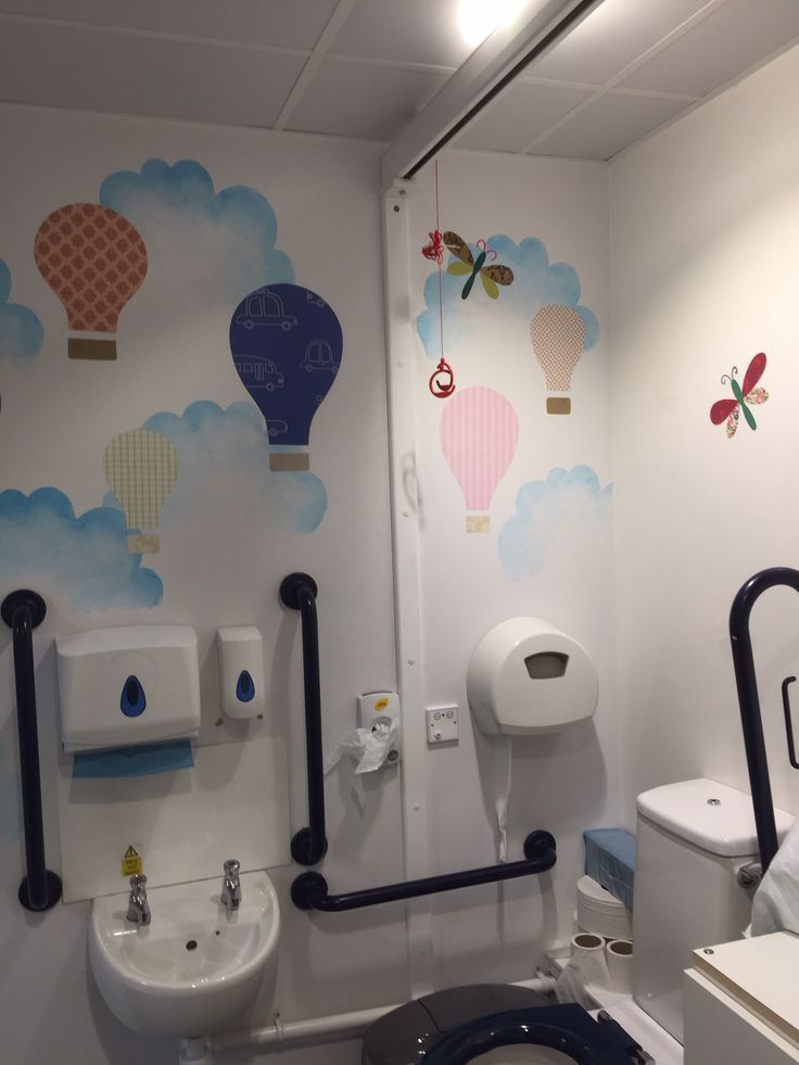 Brightening up the loo at school #1