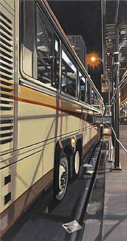 Tour Bus - Richard Estes 2012