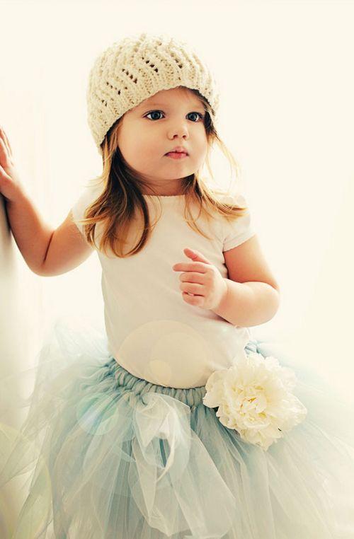 cute !!!! *.*: Hats, Outfits, Little Girls Fashion, Sweet, Tutu, Kids Fashion, Flowers Girls, Children, Baby Girls