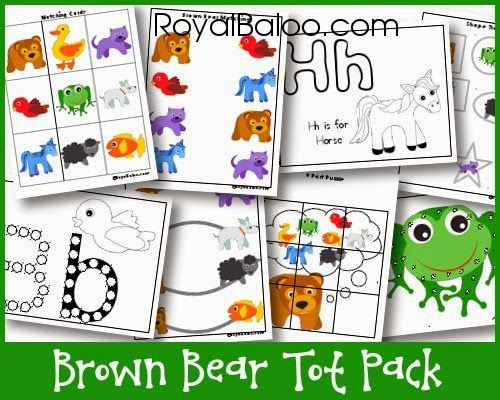 103 Best Brown Bear By Eric Carle Images On Pinterest