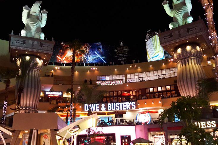 Shopping and dining at Hollywood & Highland, Los Angeles