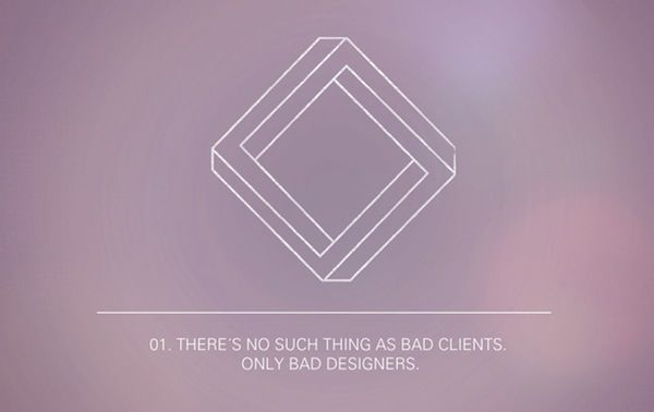 The 12 Paradoxes Of Graphic Design. Good advice, if you ignore the typos... and that most of them are not Paradoxes.