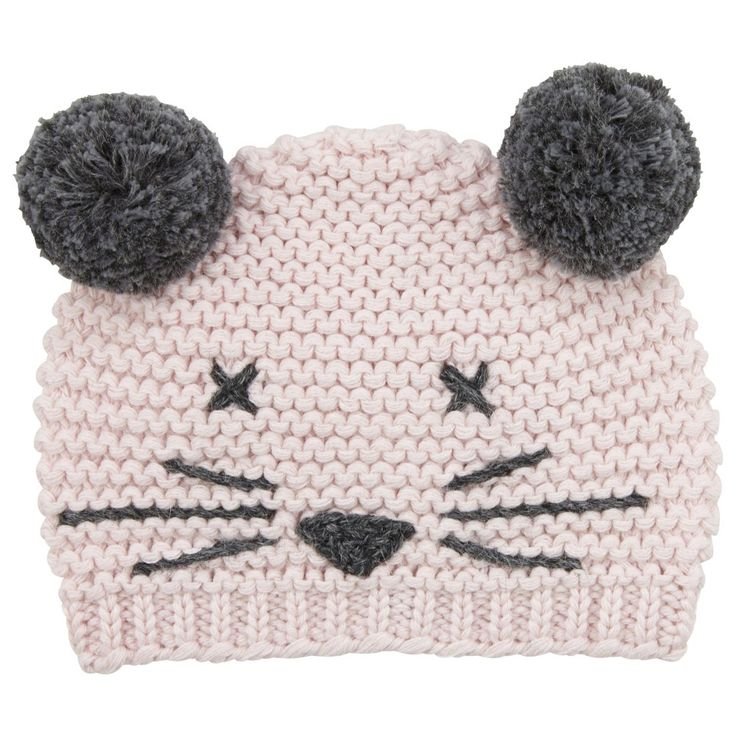 Lili Gaufrette Knitted Cotton Cat Hat