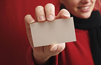 Give clients a card so they can be seen quickly and easily, even with no appointment!