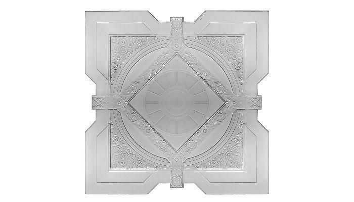 Art Deco Large Square