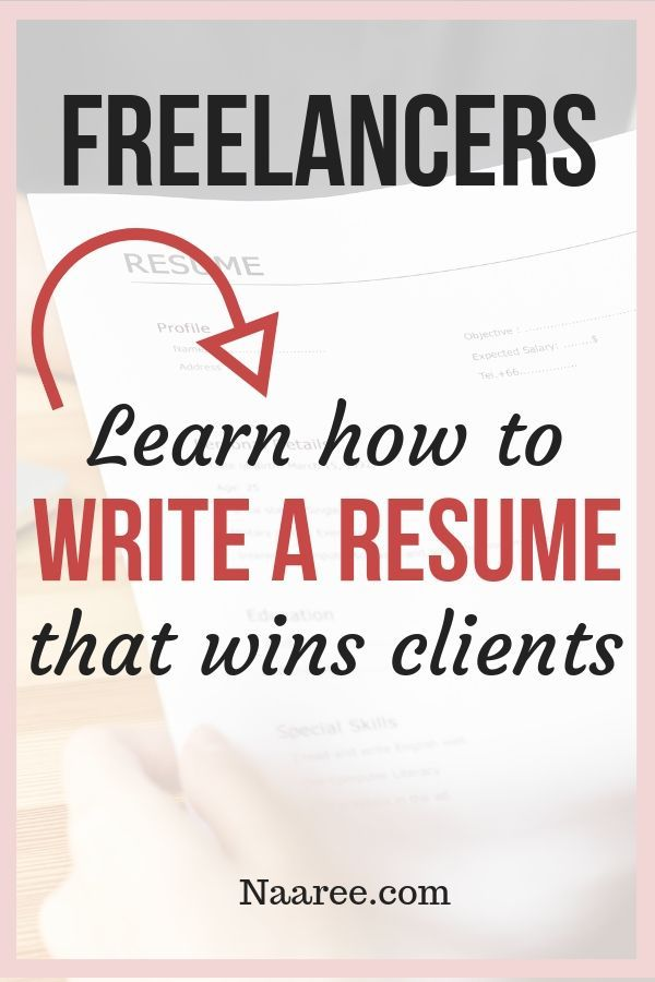 one of the top marketing tools to showcase your freelance work is to write an effective resume that reflects your freelance experience