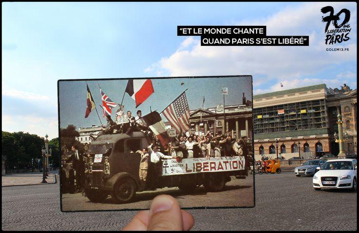 Place de la Concorde, 26 Août 1944 - Golem13