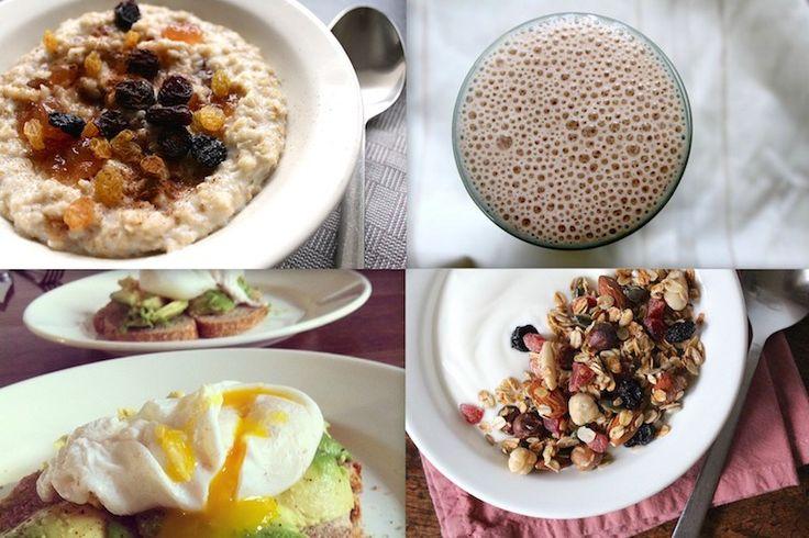 5x snel en gezond ontbijten