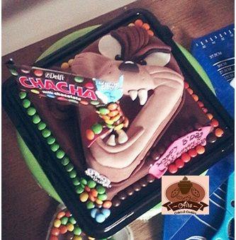 tazmania devil cake