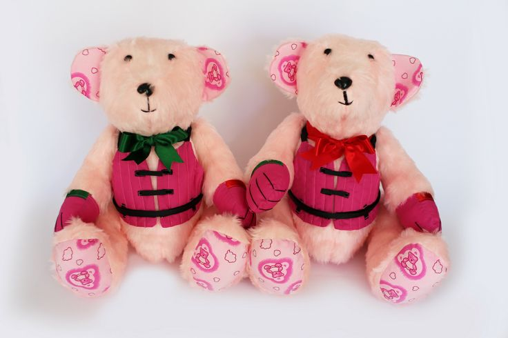 #70 & #71 - Twin Sailor Bears #Sailing #Teddy #Bears #Port #Starboard #SoftToy