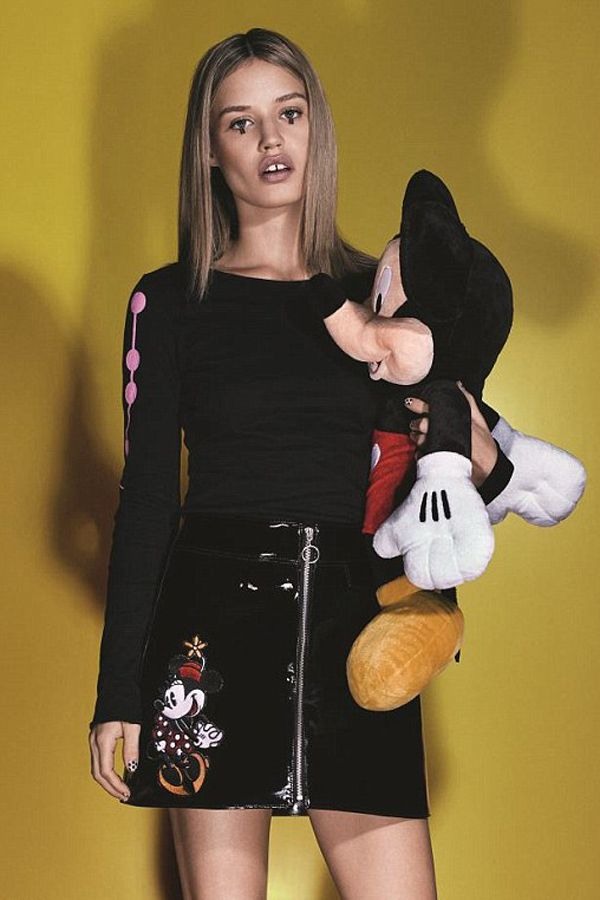Georgia May Jaggers partners with Minnie Mouse and Disney.