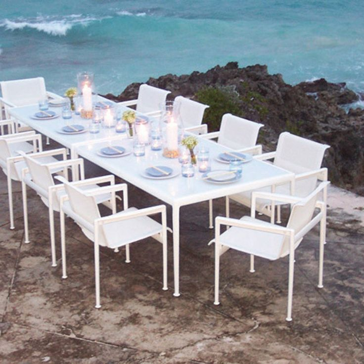 17 Best Ideas About Outdoor Dining Tables On Pinterest