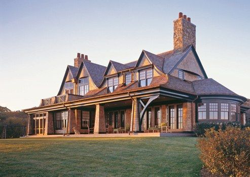 Shingle Style at the Shore | Architectural Digest