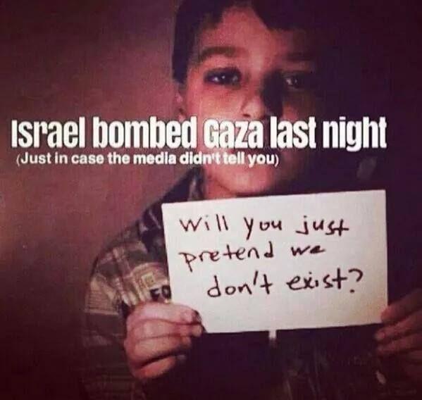 Gaza War 2014 .