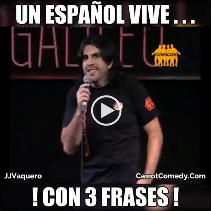 Si quieres aprender español JJ Vaquero te enseñará en este VideoMeme las tres frases clave para sobrevivir ;)