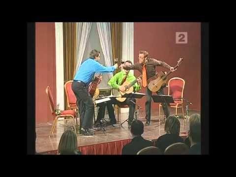 ▶ Baltic Guitar Quartet plays Malamatina by Carlo Domeniconi - YouTube