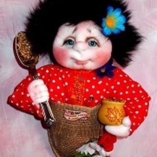 Домовой в мешочке. Материал: текстиль.#kuklanasakas #кукла #подарок  #кукларучнойработы#handmeide