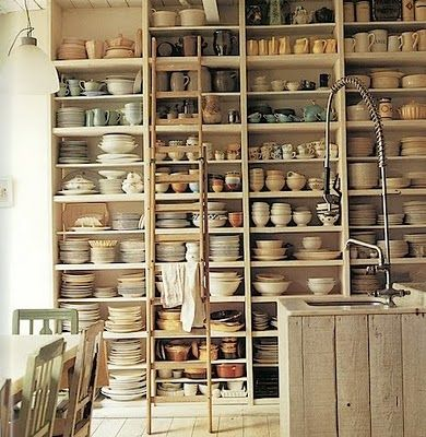 pottery..............This is cool, would love to do this and see how the collection grows in one year !