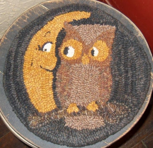 Find This Pin And More On Primitive Rug Hooking By Plumruncreek.